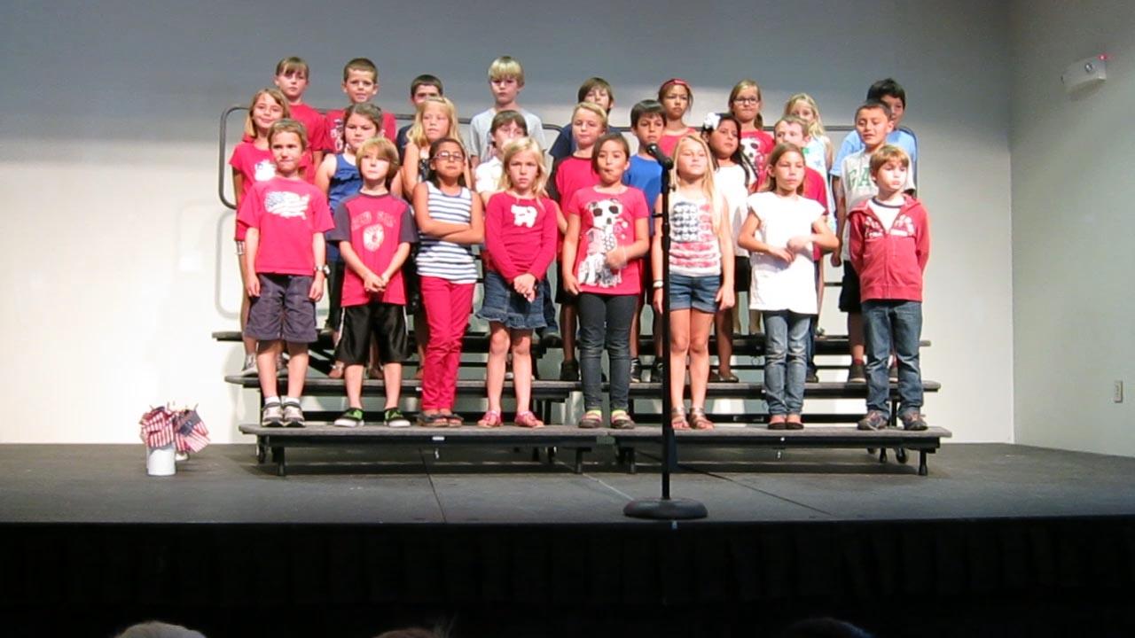 Daniel's 2nd Grade Concert