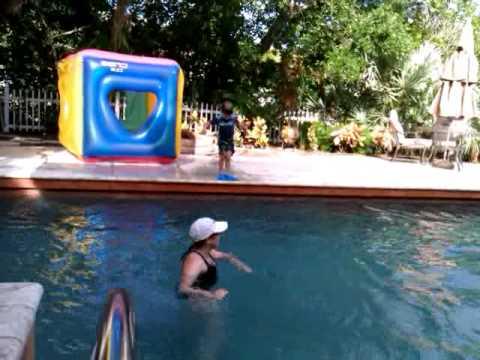 Pool time in Siesta Key