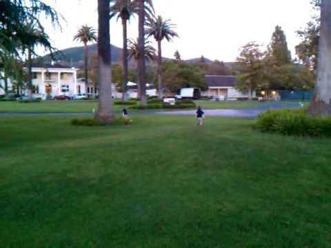 Running at Silverado Country Club