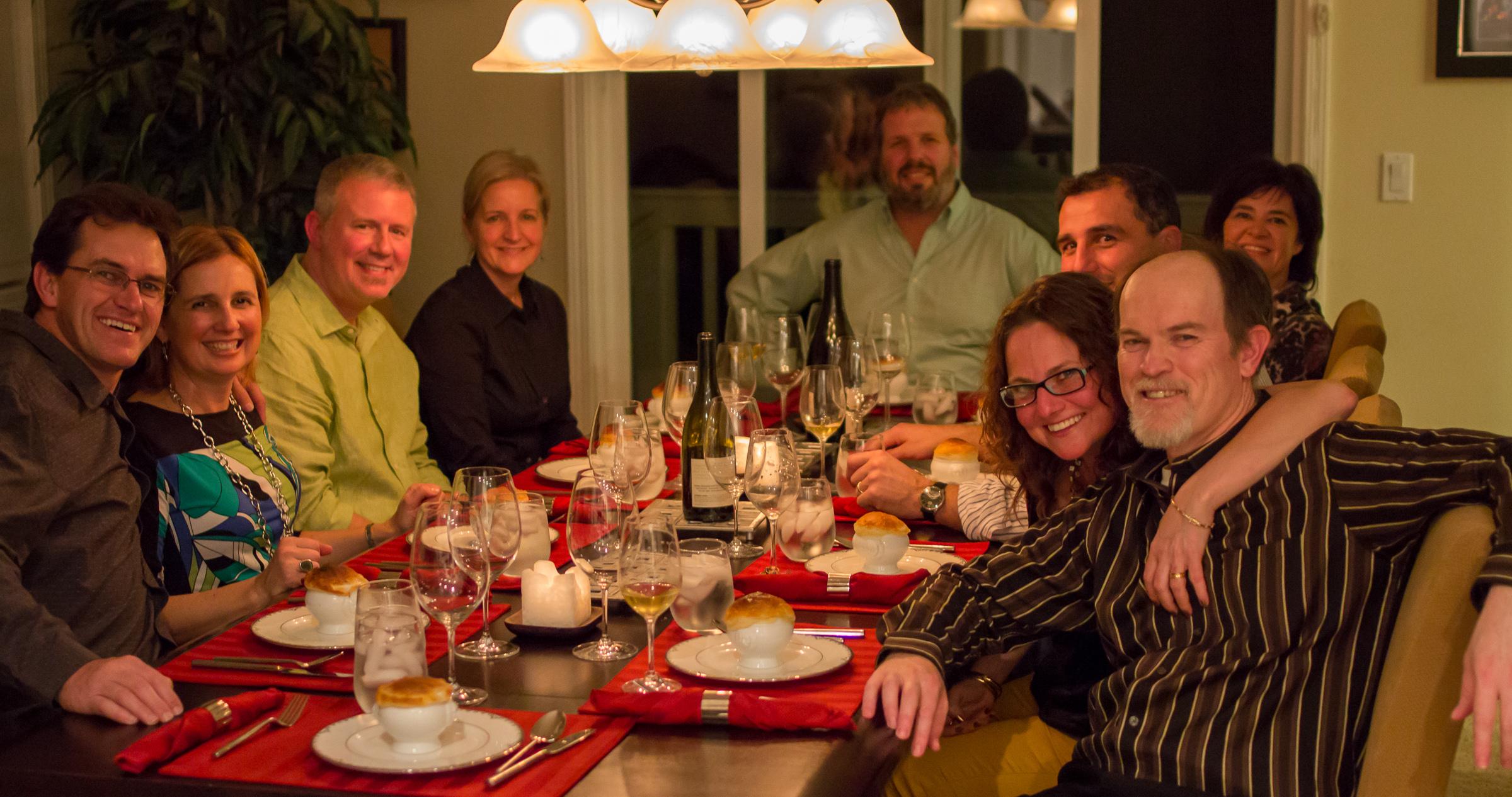 Maureen's Birthday Dinner