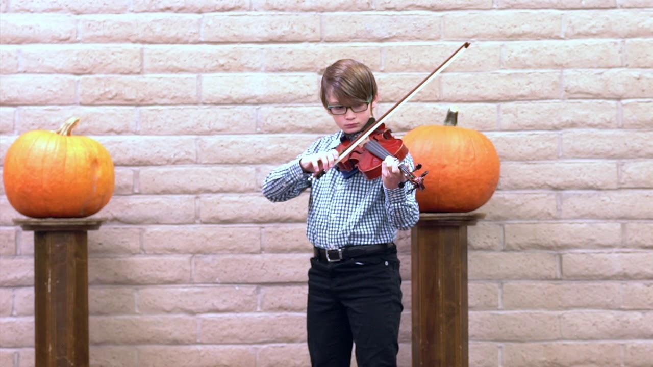 Daniel's Violin Recital